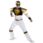 Mighty Morphin Power Rangers: White Ranger Muscle Adult Costume