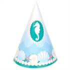 Mermaids Under the Sea Cone Hats (8)