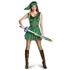 Legend of Zelda Link Prestige Female Teen Costume