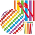 Rainbow Birthday Party Snack Party Pack