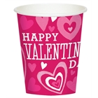 Valentines Day 9 oz. Paper Cups (8)