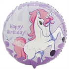 Enchanted Unicorn Foil Balloon
