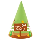 Barnyard 2nd Birthday Cone Hats (8)
