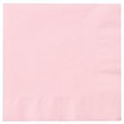 Light Pink Lunch Napkins (50)