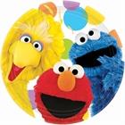Sesame Street Party Dinner Plates (8)