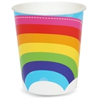 Rainbow Wishes 9 oz. Paper Cups (8)