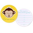 Mod Monkey Invitations (8)