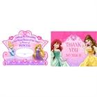 Disney Princess Party Invitations & Thank-You Postcards