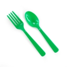 Green Forks & Spoons
