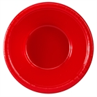 Red Plastic Bowls (20)
