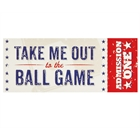 Baseball Time Invitations (8)