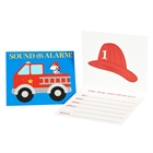 Little Fireman Invitations (8)