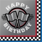 Racing Happy Birthday Lunch Napkins (16)