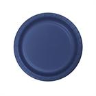 Navy Blue Dessert Plates (24)