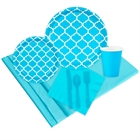 Quatrefoil Bermuda Blue Event Pack