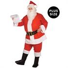 Budget Complete Santa Suit Adult Plus Costume