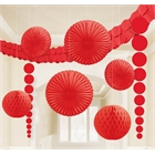 Red Paper Decorating Kit