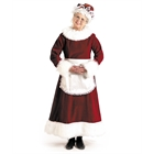Mrs. Claus Dress Adult Costume