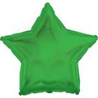 Green Star Foil Balloon