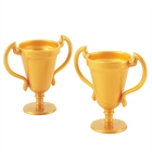 Gold Trophy Favors (8)