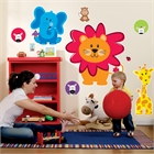 Safari Friends Giant Wall Decals
