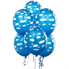Blue Balloons with Clouds (6)