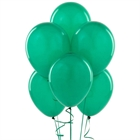 Green Latex Balloons (6)