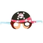 Pretty Pirates Party Paper Masks (8)