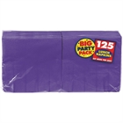Purple Lunch Napkins (125)