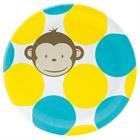 Mod Monkey Dinner Plates (8)