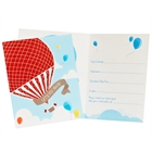 Up, Up and Away Fill In Invitations (8)
