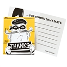 Cops and Robbers Party Thank-You Notes (8)