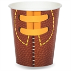 Football Game Time 9 oz. Cups (8)