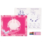 Enchanted Unicorn Activity Placemat Kit for 4