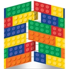 Building Block Party Invitations (8)