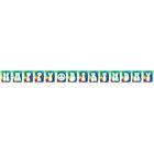 60s Tie Dye Birthday Banner