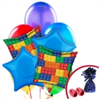 Building Block Balloon Bouquet