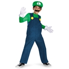 Super Mario Bros. - Luigi Deluxe Toddler or Child Costume