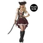 Sexy Swashbuckler Adult Plus Costume