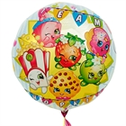Shopkins Foil Balloon