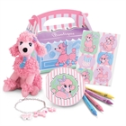 Pink Poodle in Paris Party Favor Set