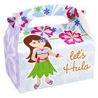 Hawaiian Girl Empty Favor Boxes (4)