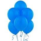 Blue Latex Balloons (6)