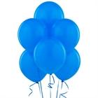 Blue Latex Balloons (6)