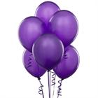 Purple Latex Balloons (6)