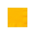 Yellow Beverage Napkins (50)