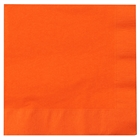 Orange Lunch Napkins (50)