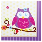 Owl Blossom Lunch Napkins (16)