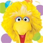 Sesame Street Party Big Bird Lunch Napkins (16)