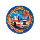 Fire Trucks Dessert Plates (8)